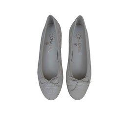 Chanel-Ballet flats-Cream