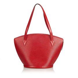 Louis Vuitton-Epi Saint Jacques Long Strap GM-Red ... 0d6880d5b9641