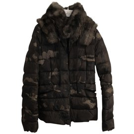 Moncler-Jackets-Dark green
