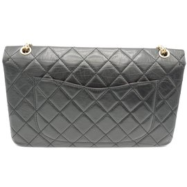 Chanel-Chanel 2.55 Maxi Jumbo 50Rare birthday!-Black