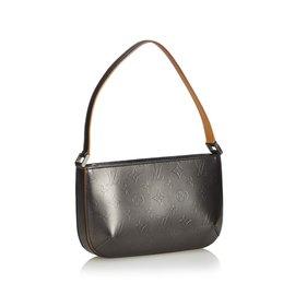 Louis Vuitton-Monogramme Mat Fowler-Noir