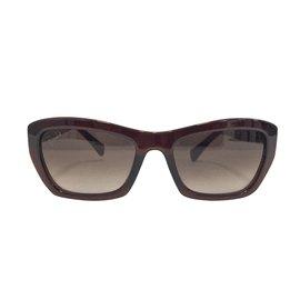 Emilio Pucci-lunettes de soleil rétro marron-Marron