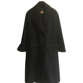 Chanel-Manteaux, Vêtements d'extérieur-Noir