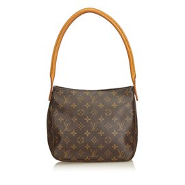 Louis Vuitton-Monogramme en boucle mm-Marron