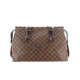 Louis Vuitton-Damier Ebene Chelsea-Marron