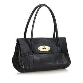 Mulberry-Leather Bayswater-Black