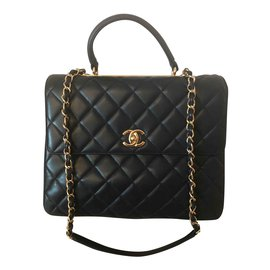 Chanel-classical-Blue,Navy blue