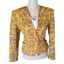 Yves Saint Laurent-Blazer chic-Yellow