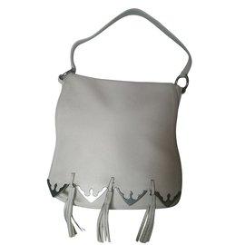 Gianni Versace-Handtaschen-Aus weiß