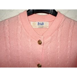 Pringle Of Scotland-Cardigan en cachemire Pringle of Scotland-Rose
