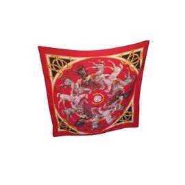 Hermès-Ascot 1831-Rouge