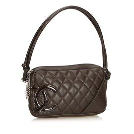 Chanel-Cambon Ligne Pochette-Noir
