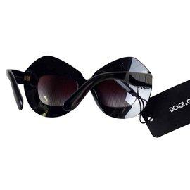 Dolce & Gabbana-dolce et gabbana lunettes de soleil new-Marron