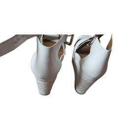 Hermès-Talons-Blanc