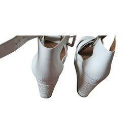 Hermès-Heels-White