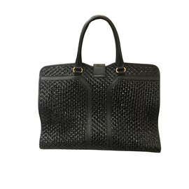 Yves Saint Laurent-Sacs à main-Noir
