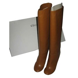Céline-Céline high boots, Never been worn-Caramel
