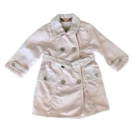 Burberry-Girl Coats outerwear-Pink