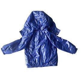 Moncler-Manteaux de garçon-Bleu