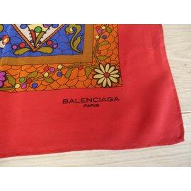 Balenciaga-Echarpes-Multicolore