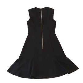 Louis Vuitton-Taille de robe Louis Vuitton 36 fr-Bleu foncé