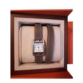 Hermès-CAPE COD-Blanc