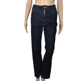 Acne-jeans-Bleu