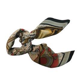 Hermès-Sonneurs de trompe-Noir