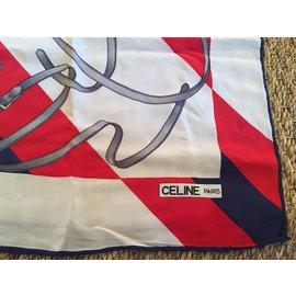 Céline-Foulards de soie-Multicolore