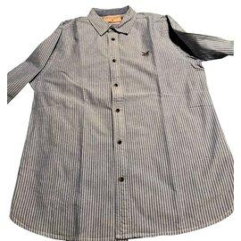 Autre Marque-Superbe chemise Chevignon Neuve T41-Bleu