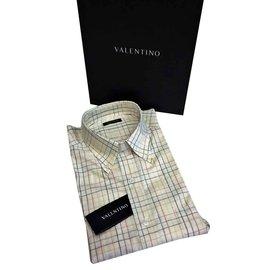 Valentino-Chemise VALENTINO-NEUVE  Taille 43/44 (XL) EU-Multicolore