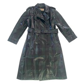 Burberry-BURBERRY TRENCH COAT IN 100% WOOL-Multiple colors