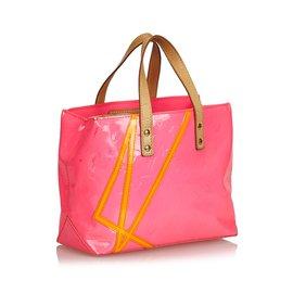 Louis Vuitton-Vernis Robert Wilson Reade PM-Rose,Orange