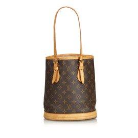 Louis Vuitton-Monogramme Petit Seau-Marron