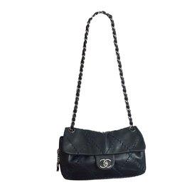 Chanel-BAG CHANEL TIMELESS BLUE-Dark blue