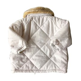 Baby Dior-Girl Coats outerwear-White