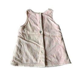 Baby Dior-Robes-Rose