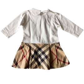 Burberry-Dresses-White,Multiple colors
