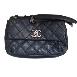 Chanel-Sac Chanel-Bleu Marine