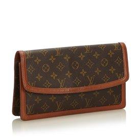 Louis Vuitton-Monogramme Pochette Dame-Marron