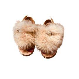 Ugg-Kids Sandals-Beige