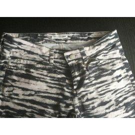 Isabel Marant Etoile-jeans-Imprimé Zèbre