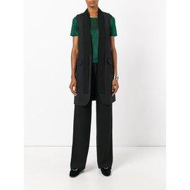 Armani-Pantalons, leggings-Noir