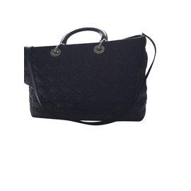 Christian Dior-Lady Dior shopping XL M0570PCAL-Noir