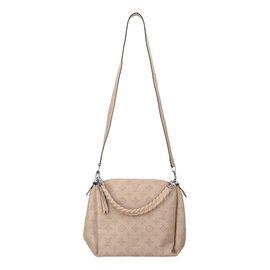 Louis Vuitton-Babylone chain BB cuir Mahina-Beige