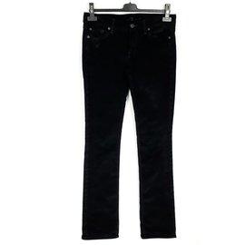 7 For All Mankind-7 All For MankindPantalons Jeans Velours côteléTaille W27-Noir