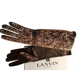 Lanvin-Gants-Multicolore