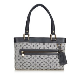 Louis Vuitton-Mini Lin Lucille PM-Noir,Blanc