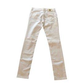 Gianni Versace-Jeans de Versace-Blanc