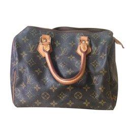 Louis Vuitton-speedy 25-Marron